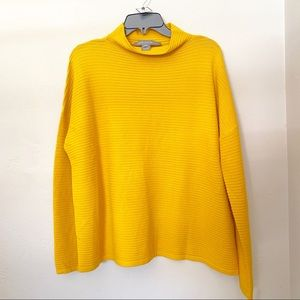 French Connection Turtleneck Boxy Slouchy Sweater